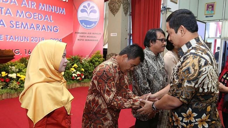 Pelantikan Direksi PDAM, Wali Kota Semarang