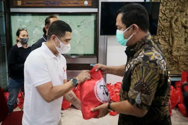 Pemkot Semarang Bantu Sembako Pagersemar